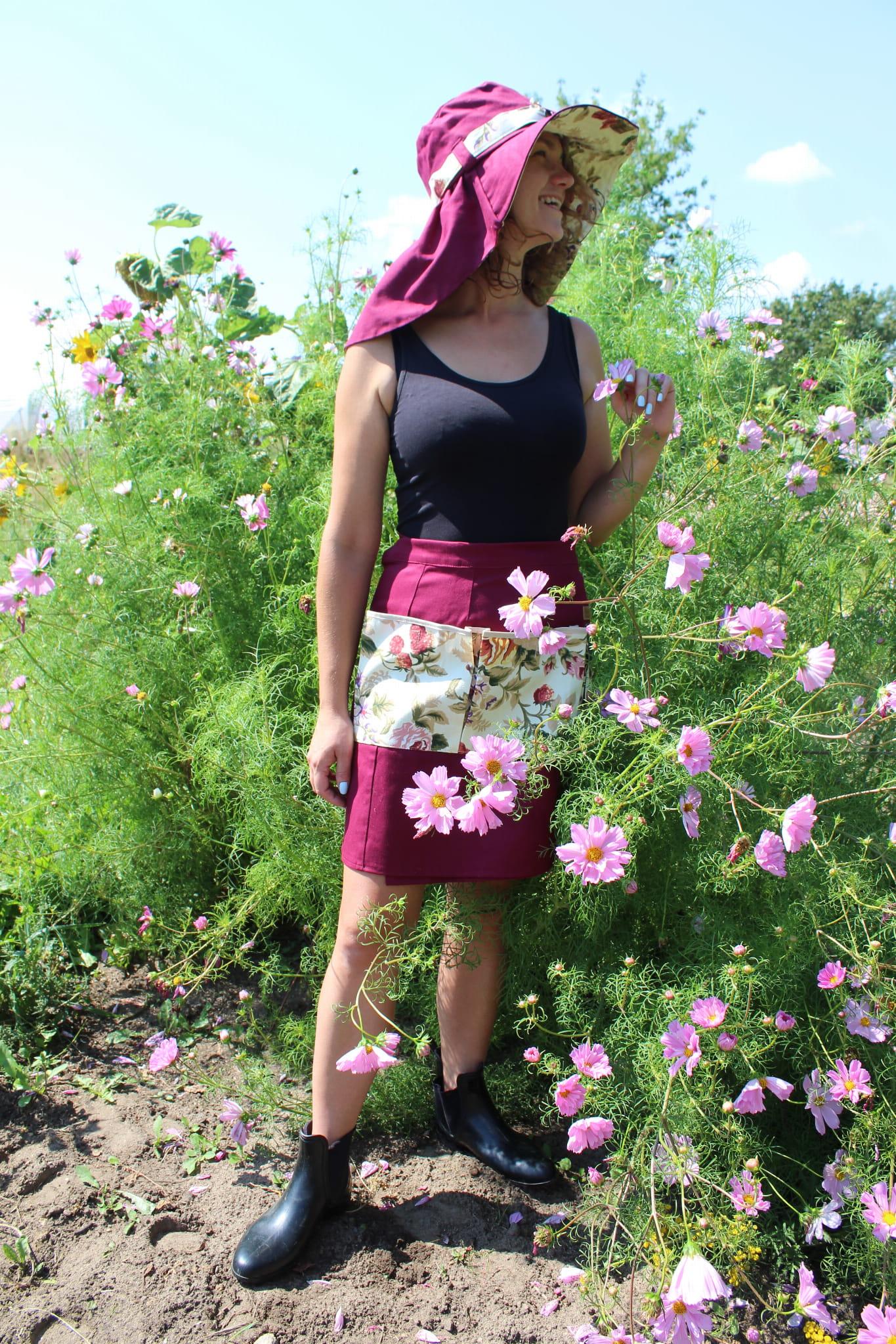 Fartuszek – spódniczka Garden Flowers